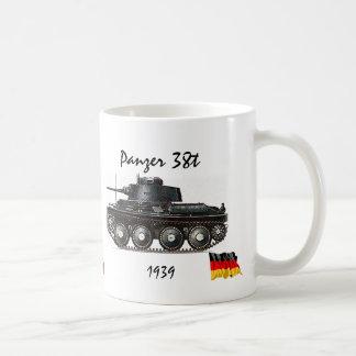Panzer 38t -WW II Tank Mug