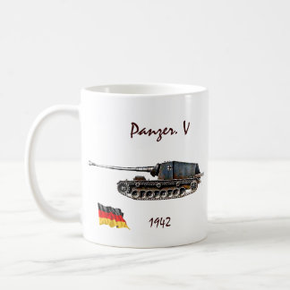 Panzer. V Tank - WW II Coffee Mug