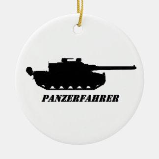 panzerfahrer ceramic ornament