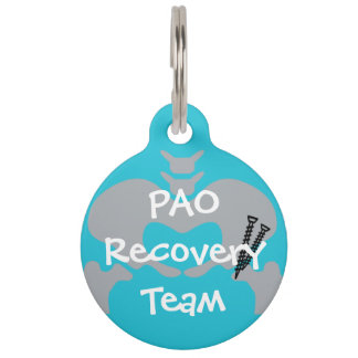PAO Recovery Team Dog Tag with Customizable Name