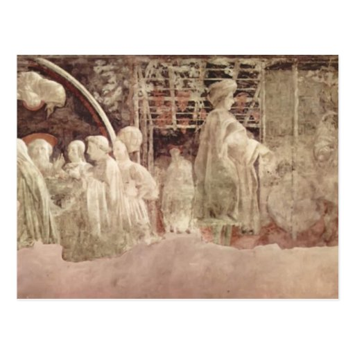 Paolo Uccello: Scene of peace offerings Postcards