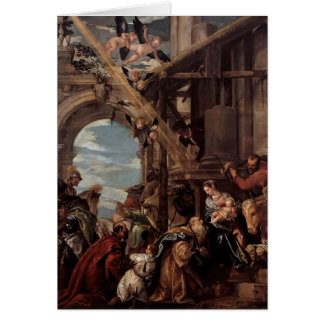 Paolo Veronese- Adoration of the Magi Card
