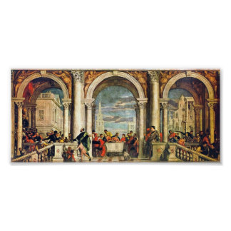 Paolo Veronese - Feast in the House of Levi Poster