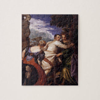 Paolo Veronese-Honor,power after death Jigsaw Puzzle
