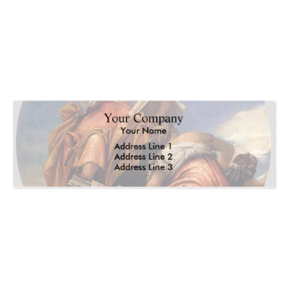 Paolo Veronese- Music, Astronomy and Deceit Business Card Template