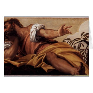 Paolo Veronese- St Matthew Greeting Card