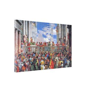 Paolo Veronese - The Wedding at Cana Canvas Print