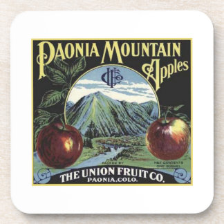 Paonia Mountain Apples Beverage Coasters