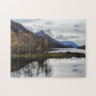Pap of Glencoe and Loch Leven, Lochaber, Scotland Jigsaw Puzzle
