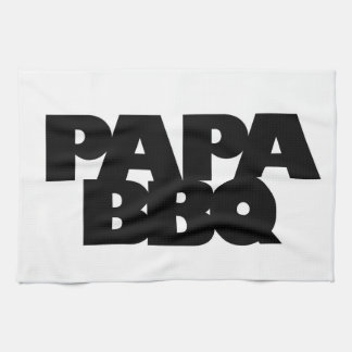 Papa BBQ Tea Towel
