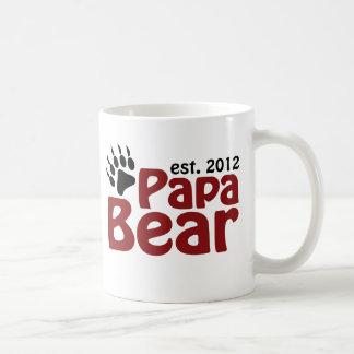 papa bear claw 2012 basic white mug