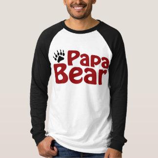 Papa Bear Claw Tshirt