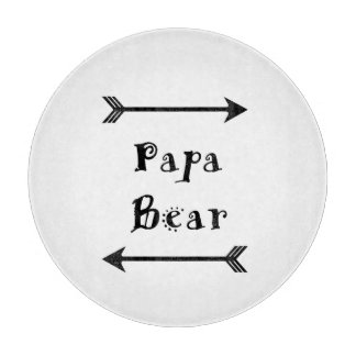 Papa Bear Cutting Board