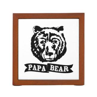 Papa Bear Desk Organiser