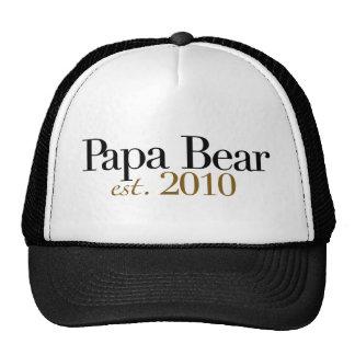 Papa Bear Est 2010 Mesh Hats