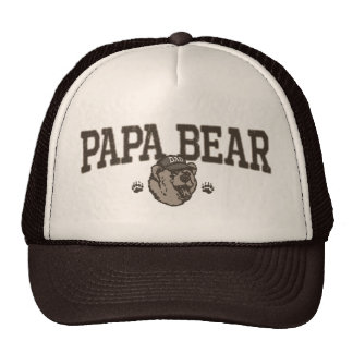Papa Bear Gift Ideas for Dad Hat