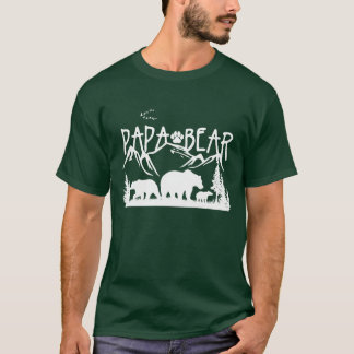 Papa Bear- Great Outdoors TShirt (for Dark colors)