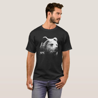 Papa Bear Grizzly Dark T-shirt