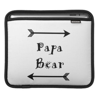 Papa Bear iPad Sleeve
