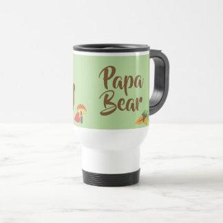 papa Bear - Large Family Dad Gift Travel Mug