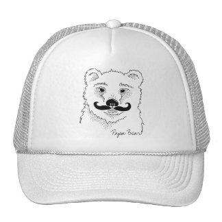 Papa Bear MOUSTACHE Cap