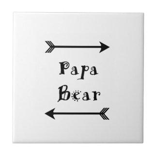 Papa Bear Tile