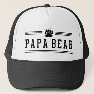 Papa Bear Trucker Hat
