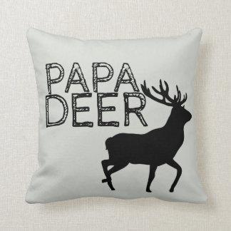 Papa Deer throwpillow