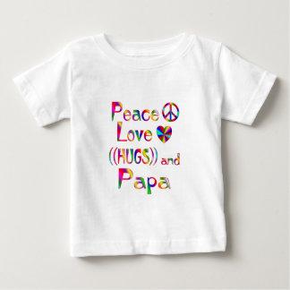 Papa Hugs Baby T-Shirt