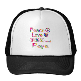 Papa Hugs Mesh Hats