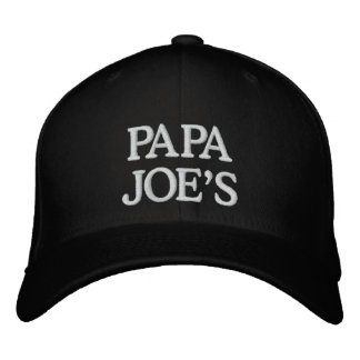 PAPA JOE'S EMBROIDERED HAT