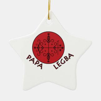 Papa Legba Ceramic Star Ornament