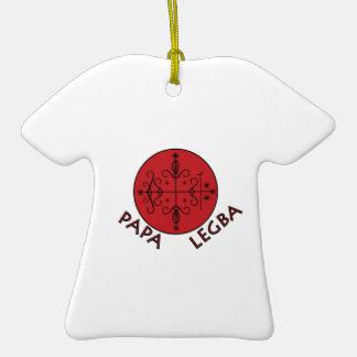 Papa Legba Ceramic T-Shirt Ornament