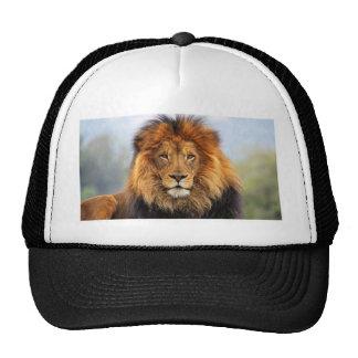 Papa Lion Trucker Hats