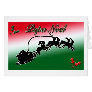 Papa Noel Christmas Card