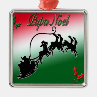 Papa Noel Christmas Ornament