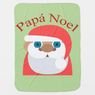 Papa Noel (Santa Claus) Baby Blanket
