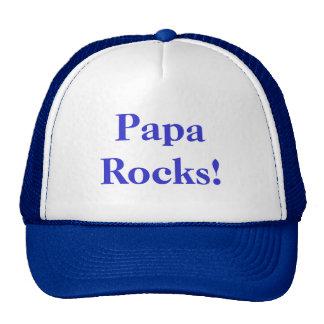 Papa Rocks Hat