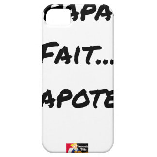 PAPACY MAKES CHATTER - Word games Case For The iPhone 5