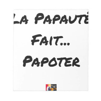 PAPACY MAKES CHATTER - Word games Notepad