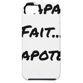 PAPACY MAKES CHATTER - Word games Tough iPhone 5 Case