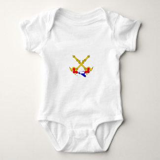 papal-states-Flag Baby Bodysuit