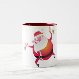 papanoel1 Two-Tone mug