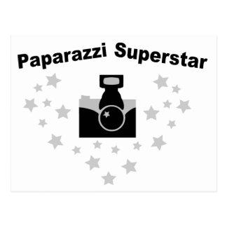 Paparazzi Camera Postcard