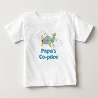 Papa's Co-pilot Baby T-Shirt