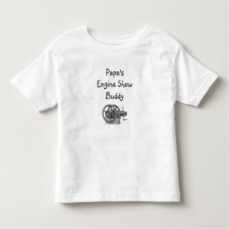 Papa's Engine Show Buddy Toddler T-Shirt
