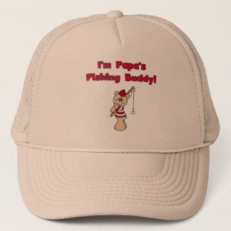 Papa's Fishing Buddy Tshirts and Gifts Trucker Hat