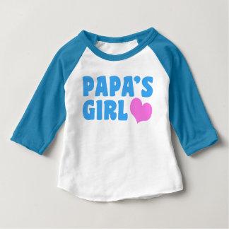 Papa's Girl Baby T-Shirt