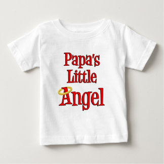 Papa's Little Angel Baby T-Shirt
