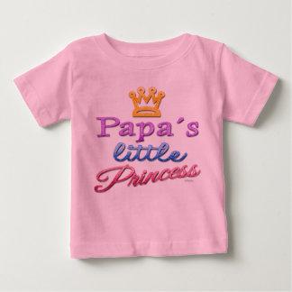 Papa's Little Princess Baby Toddler T-Shirt